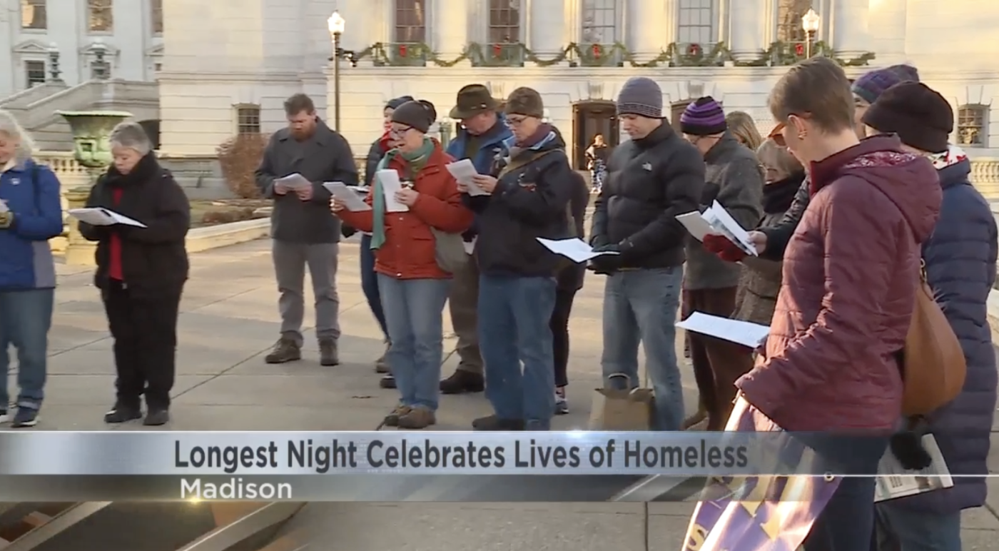 """JustDane hosts """"Longest Night of the Year"""" at Madison's Capital Square"""